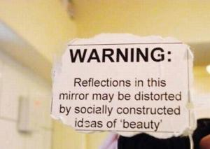 socially constructed ideas of beauty